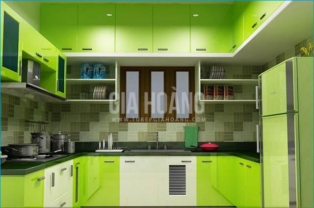 Lựa chọn màu sắc cho tủ bếp gỗ công nghiệp theo xu hướng 2017