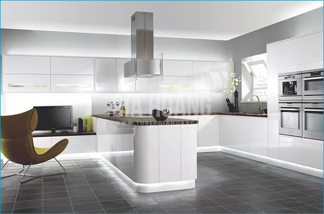 Lựa chọn màu sắc cho tủ bếp gỗ công nghiệp theo xu hướng 2017 2