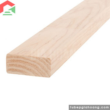 Thanh gỗ cứng cố định gạch